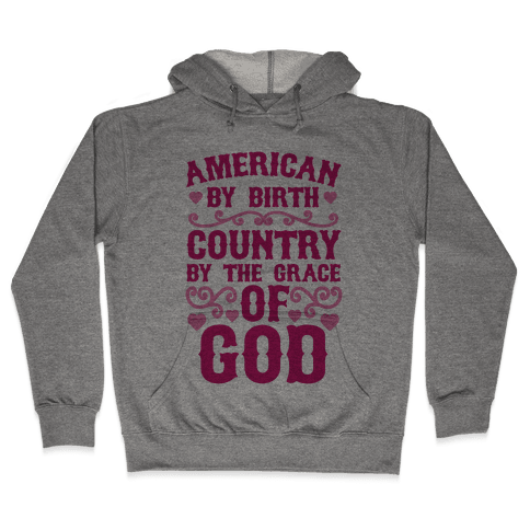 American Country Hooded Sweatshirt