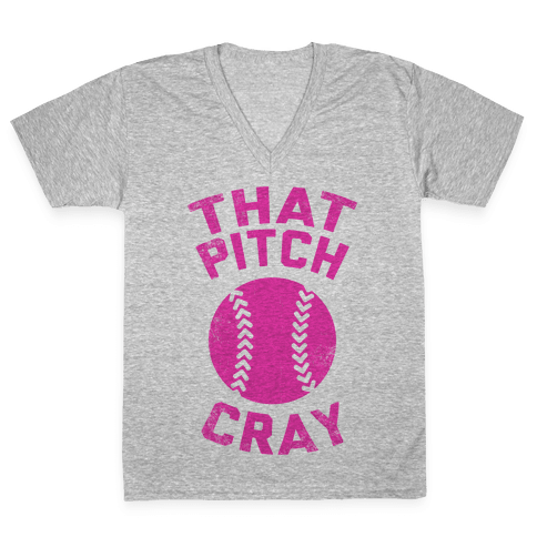 That Pitch Cray V-Neck Tee Shirt