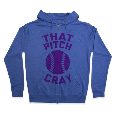 That Pitch Cray Zip Hoodie