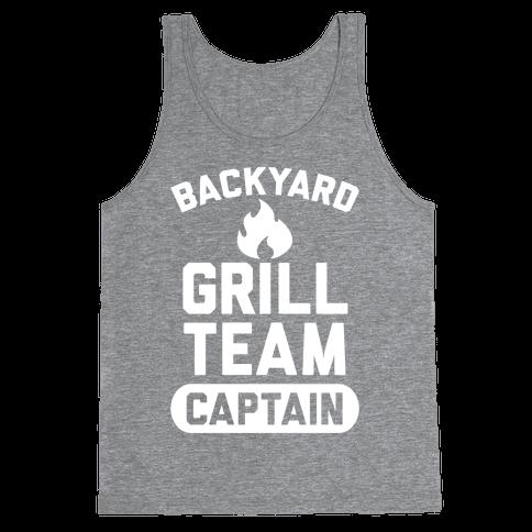 Backyard Grill Team Captain Tank Top