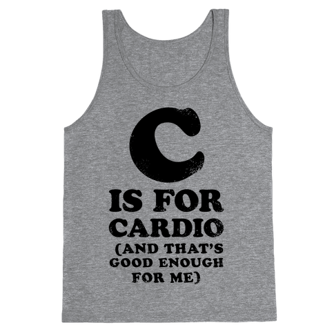 C is for Cardio Tank Top