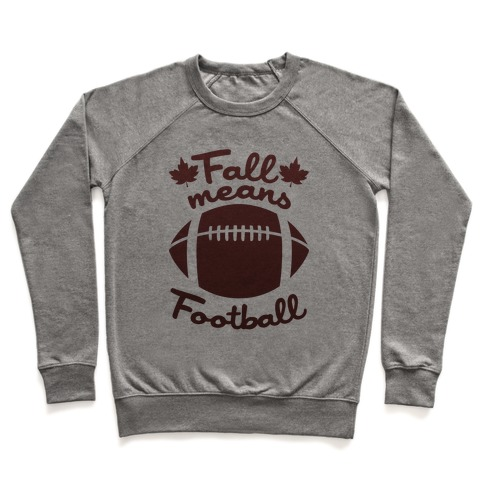 Fall Means Football Pullover