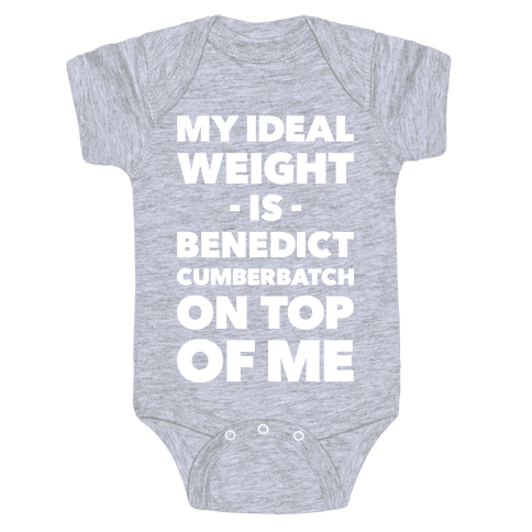 Ideal Weight Baby Onesy