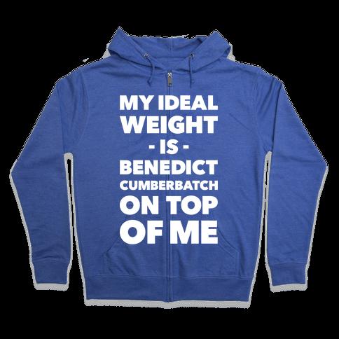 Ideal Weight Zip Hoodie