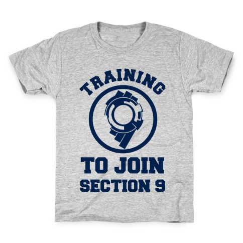 Training To Join Section 9 Kids T-Shirt