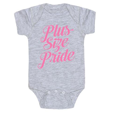 Plus Size Pride Baby Onesy