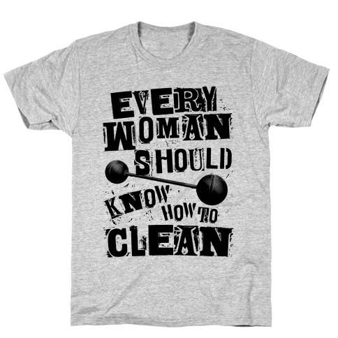 Every Woman Should Know How to Clean T-Shirt