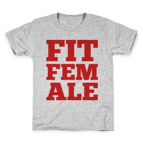Fit Female Kids T-Shirt