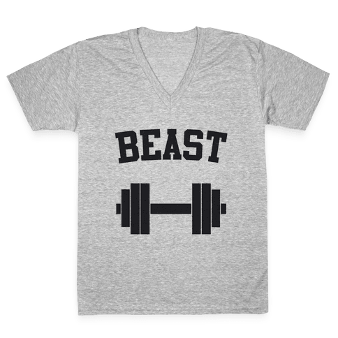 Beast V-Neck Tee Shirt