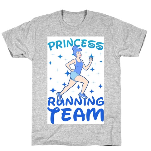 Princess Running Team (Blue) T-Shirt