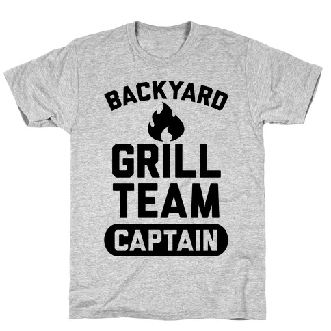 Backyard Grill Team Captain T-Shirt