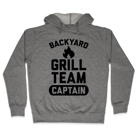 Backyard Grill Team Captain Hooded Sweatshirt