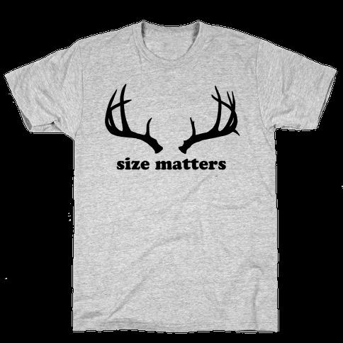Size Matters Mens T-Shirt