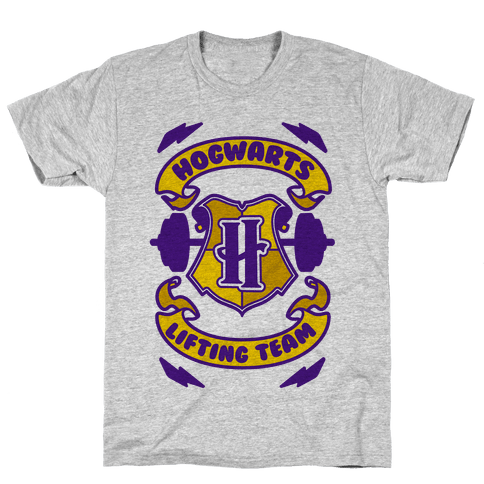 Hogwarts Lifting Team Mens T-Shirt