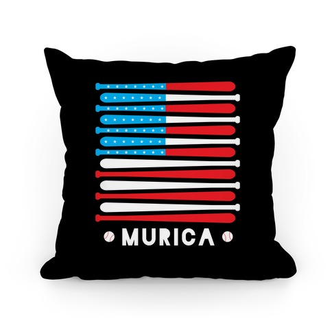Baseball Murica Pillow Pillow