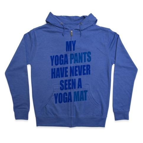 Yoga Pants (tank) Zip Hoodie