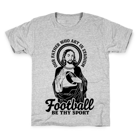 Football Jesus Kids T-Shirt