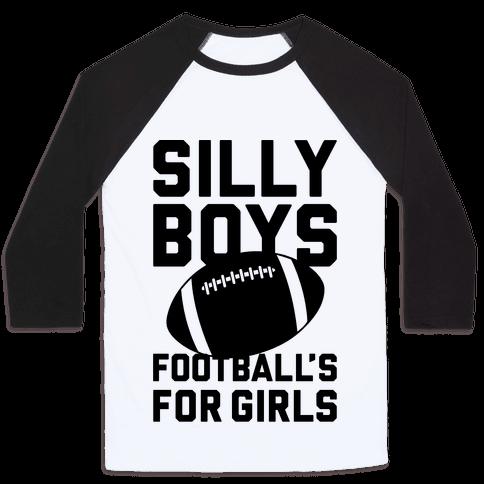 Silly Boys Baseball Tee