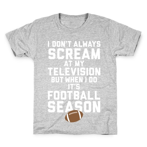 Football Season Kids T-Shirt