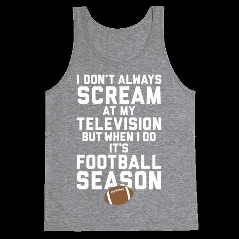 Football Season Tank Top