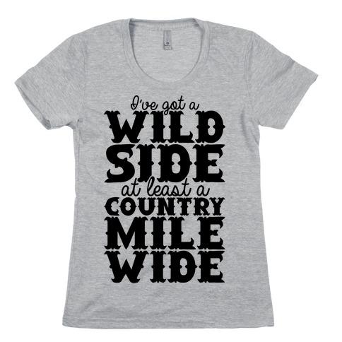 Wild Side Womens T-Shirt