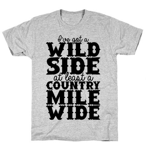 Wild Side Mens T-Shirt