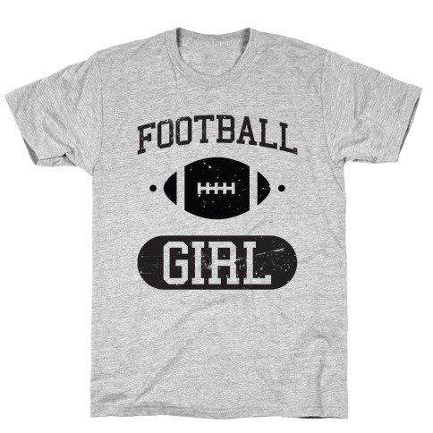 Football Girl T-Shirt
