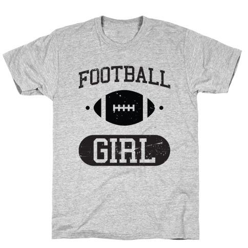 Football Girl Mens/Unisex T-Shirt