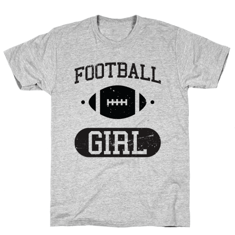 Football Girl Mens T-Shirt