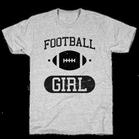 Football Girl Mens T-Shirt