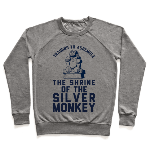 Training To Assemble The Shrine Of The Silver Monkey Pullover