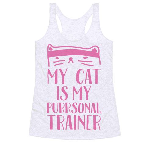 My Cat Is My Personal Trainer