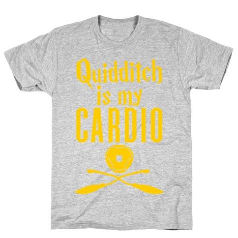 Quidditch Is My Cardio T-Shirt