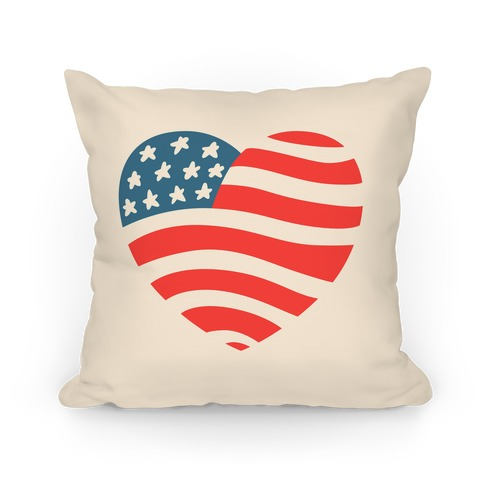 American Heart Pillow