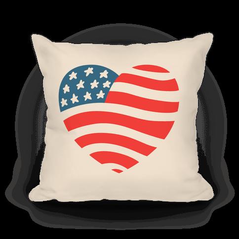 American Heart Pillow