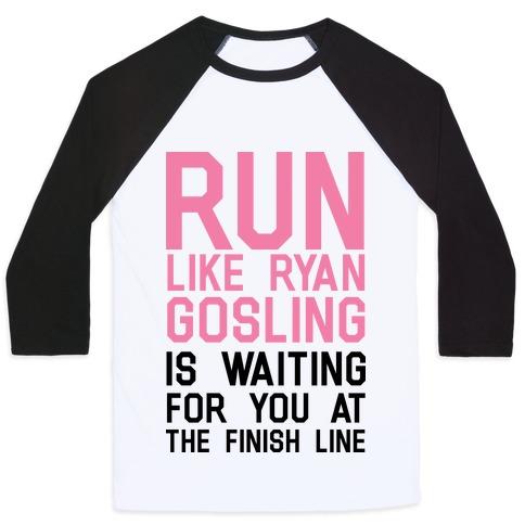 Run For Gosling Baseball Tee