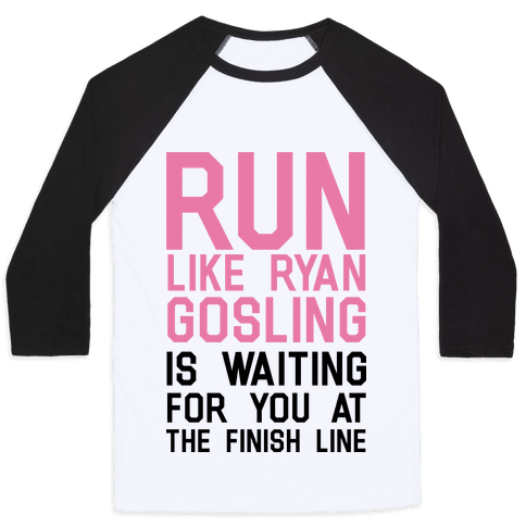 Run For Gosling Baseball Tee