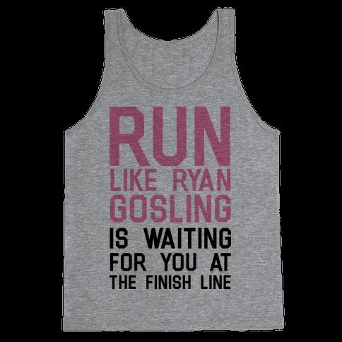 Run For Gosling Tank Top