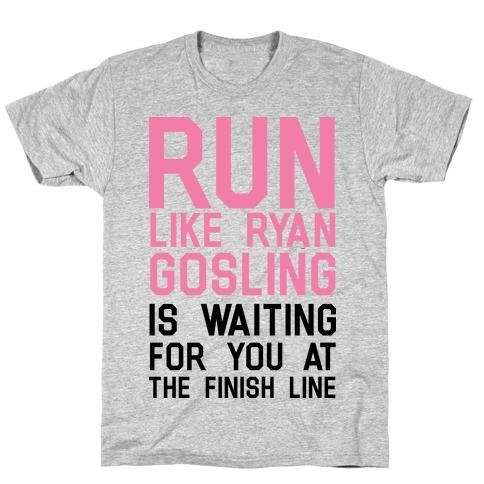 Run For Gosling Mens T-Shirt