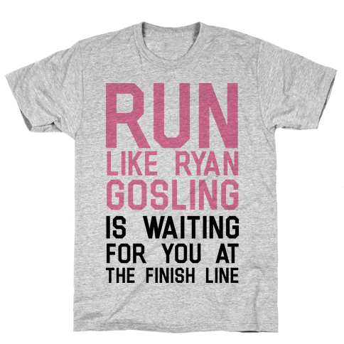 Run For Gosling Mens T-Shirt