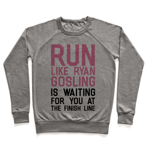Run For Gosling Pullover
