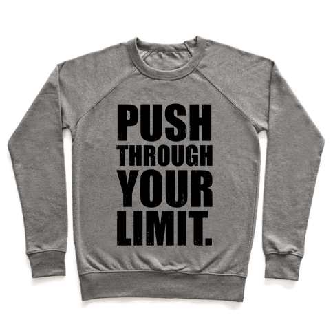 Push Through Your Limit (Tank) Pullover