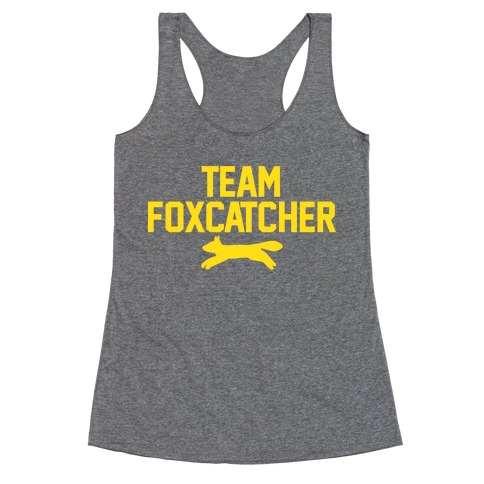 Team Foxcatcher Racerback Tank Top