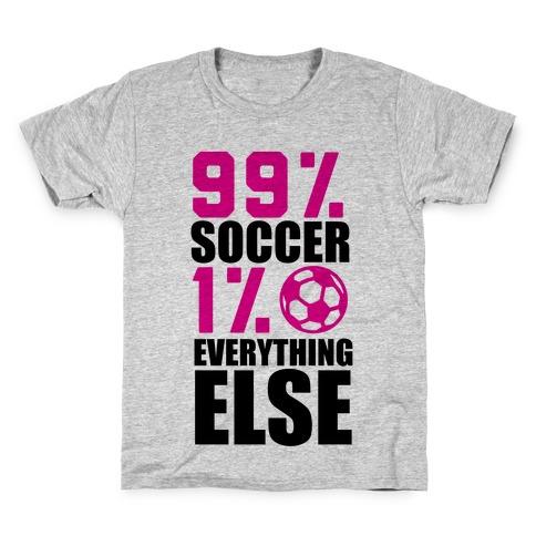 99% Soccer Kids T-Shirt
