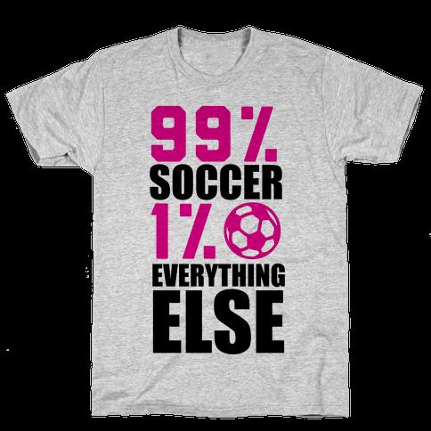 99% Soccer Mens T-Shirt