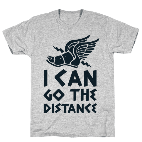 I Can Go The Distance Mens T-Shirt