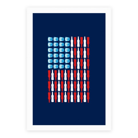 United Drinks of America Poster