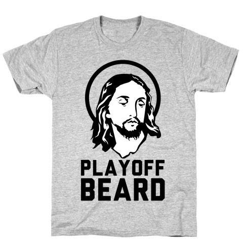 Jesus Playoff Beard T-Shirt