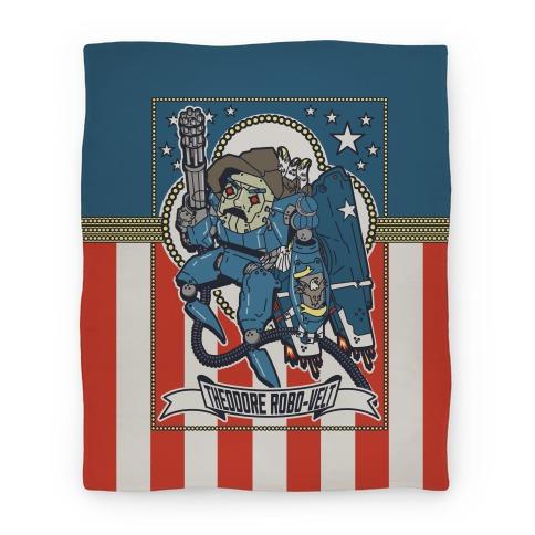 Theodore Robo-velt (Blanket) Blanket