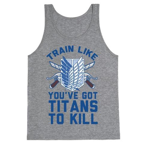 Titans To Kill Tank Top